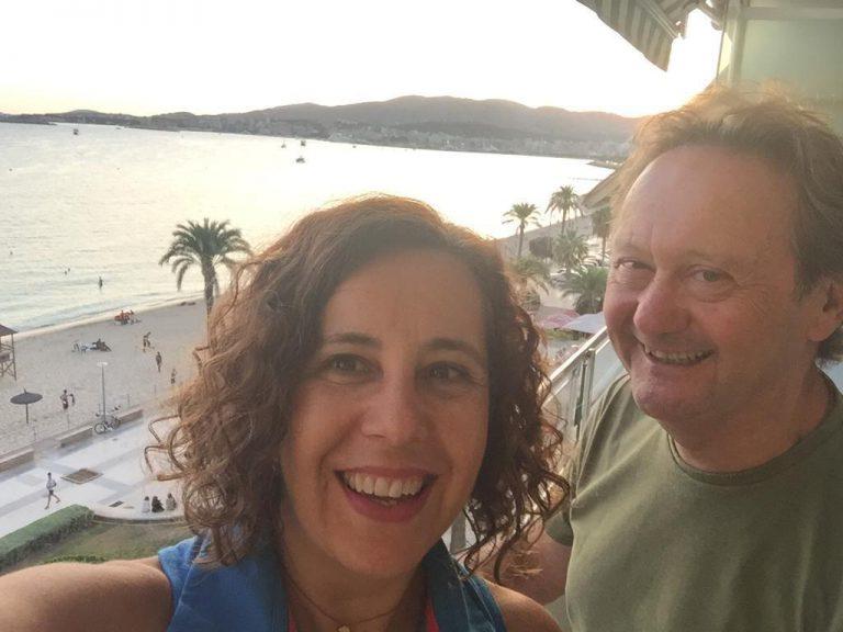 Belén González y Miquel Riutort
