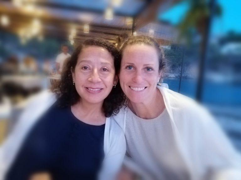 Patricia Basante y Yanina Paglioni